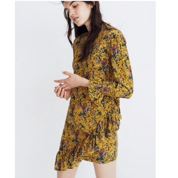 ead64f5d36c Madewell Dresses | Karen Walker Silk Floral Loretta Dress | Poshmark